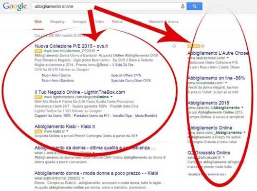 esempio google adwords - socialwebmax
