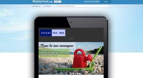 mobiletest.me - SocialWebMax