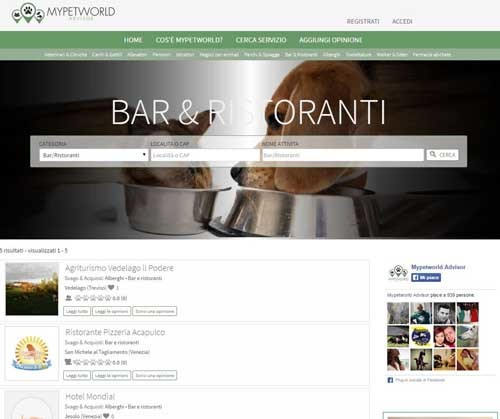 mypetworld bar-ristoranti - SocialWebMax