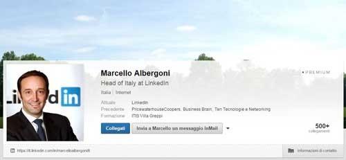 Come avere profili efficaci su LinkedIn, i consigli di Marcello Albergoni - SocialWebMax