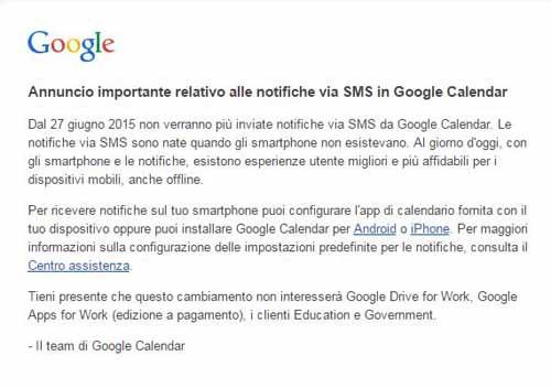 Google elimina gli sms 02 - SocialWebMax