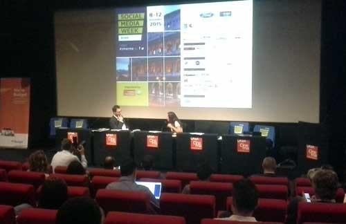 Laura Bononcini alla #SMWRME - SocialWebMax