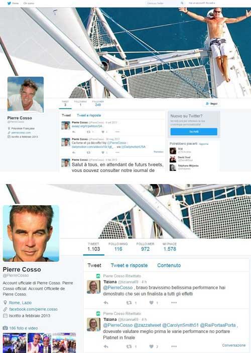Pierre Cosso Twitter da-inizio-a-20-04-2016 - SocialWebMax
