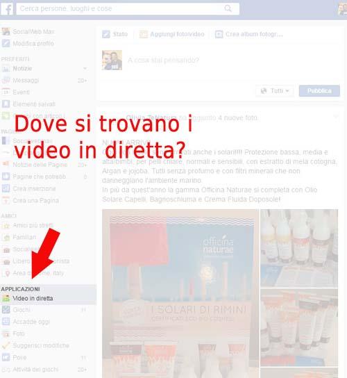 Diretta Facebook 001 -come accedere alla Facebook Live Map - SocialWebMax