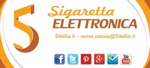Insegna e logo per il negozio 5 Roma Cassia - SocialWebMax