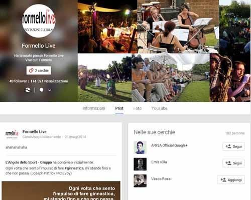 FormelloLive Google+ - SocialWebMax