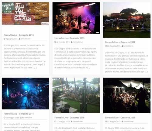 FormelloLive-sito02 - SocialWebMax