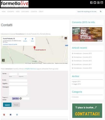FormelloLive-sito03 - SocialWebMax