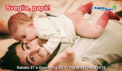 sveglia papà - promozione AngoloDelloSport - SocialWebMax