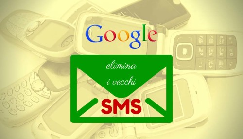 Google elimina gli sms 01 - SocialWebMax