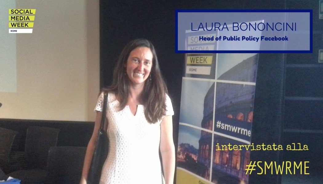 Laura Bononcini intervistata alla #SMWRME - SocialWebMax
