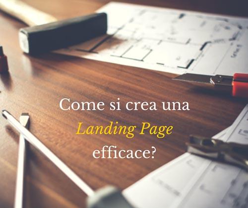 Come si crea una landing page efficace - SocialWebMax