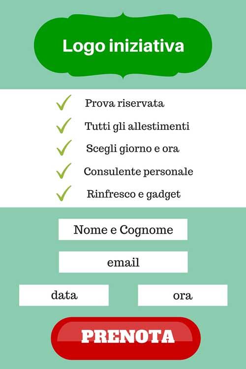 Esempio di Lead page efficace - SocialWebMax