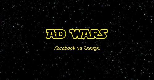 adwars Facebook contro Google - SocialWebMax