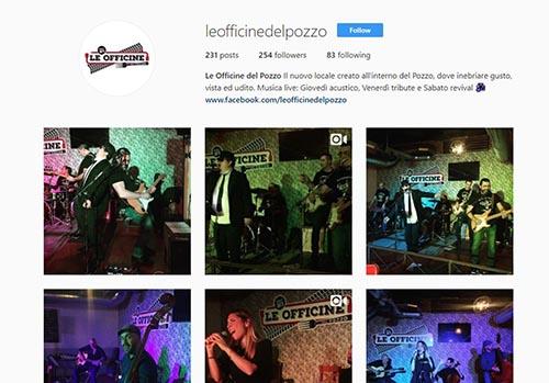Le Officine del Pozzo Instagram - SocialWebMax